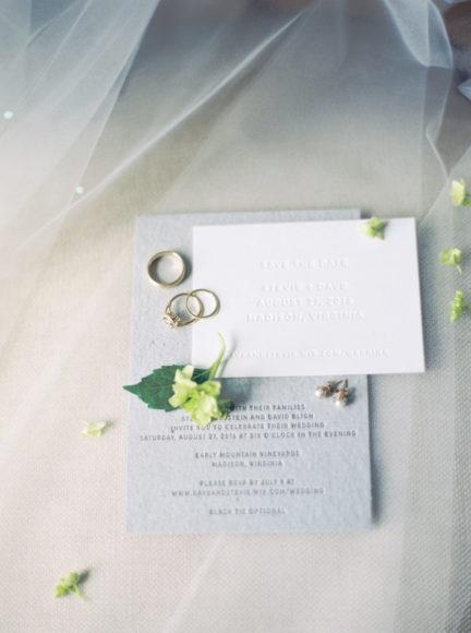 wedding invitations photo by Matoli Keely Photography