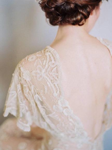 backless wedding dress photo by Matoli Keely Photography